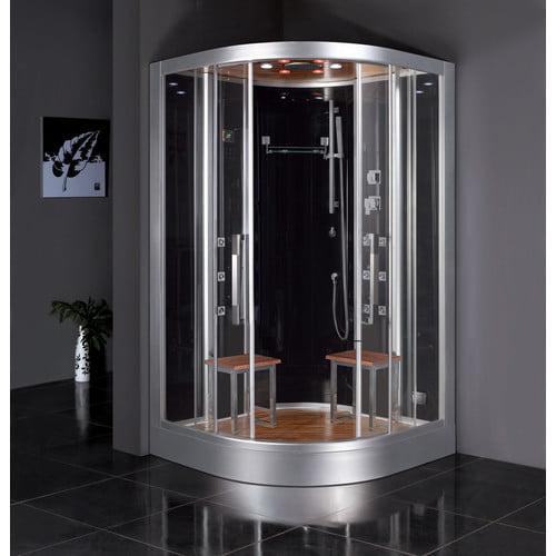 Ariel  DZ962F8  Steamroom Enclosures  Platinum  Steam Showers  Shower System  ;Black