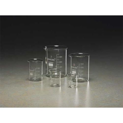 GRAINGER APPROVED Beaker Set,Glass, BGSET5