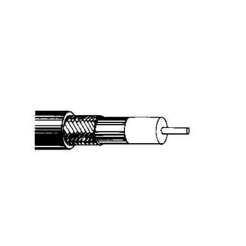 BELDEN CABLES 9913 RG8/U Coaxial Cable - 500Ft (Black)