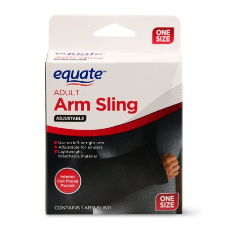 Equate Adult Adjustable Arm Sling, One Size (000cn Arm)