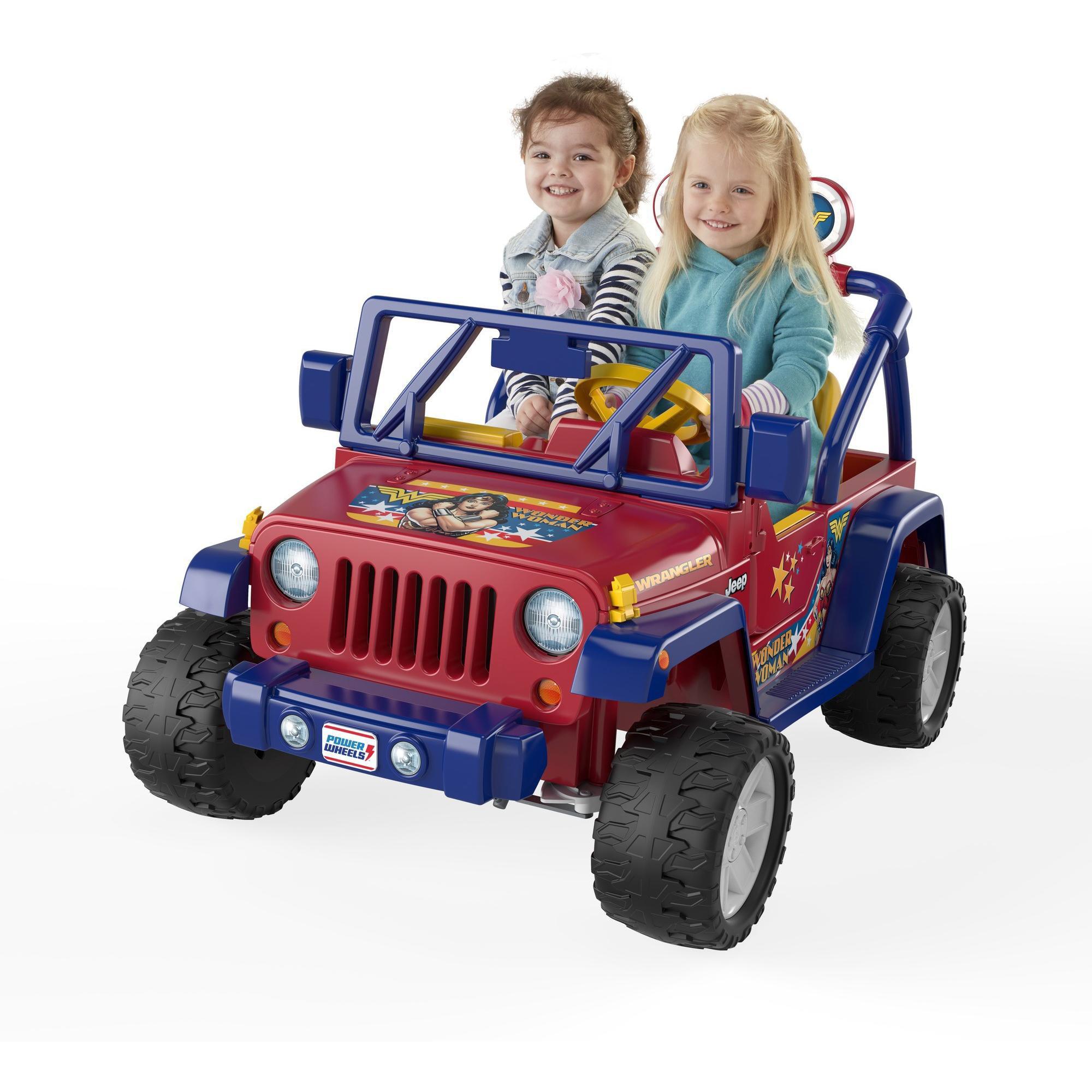 Power Wheels Wonder Woman Jeep Wrangler by Mattel