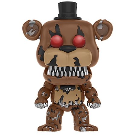 Five Nights At Freddys   Nightmare Freddy Toy Figure  Action Chica Set Exclusive Freddy Foxy Marionette Fnaf 111 Funko 10518 Freddy Of    By Funko
