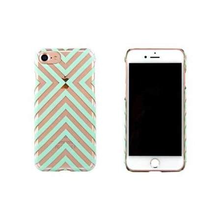 iPhone 7 Case - End Scene - Mint Stripe