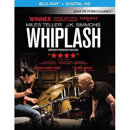 Whiplash  Blu Ray   Canadian  Bilingual