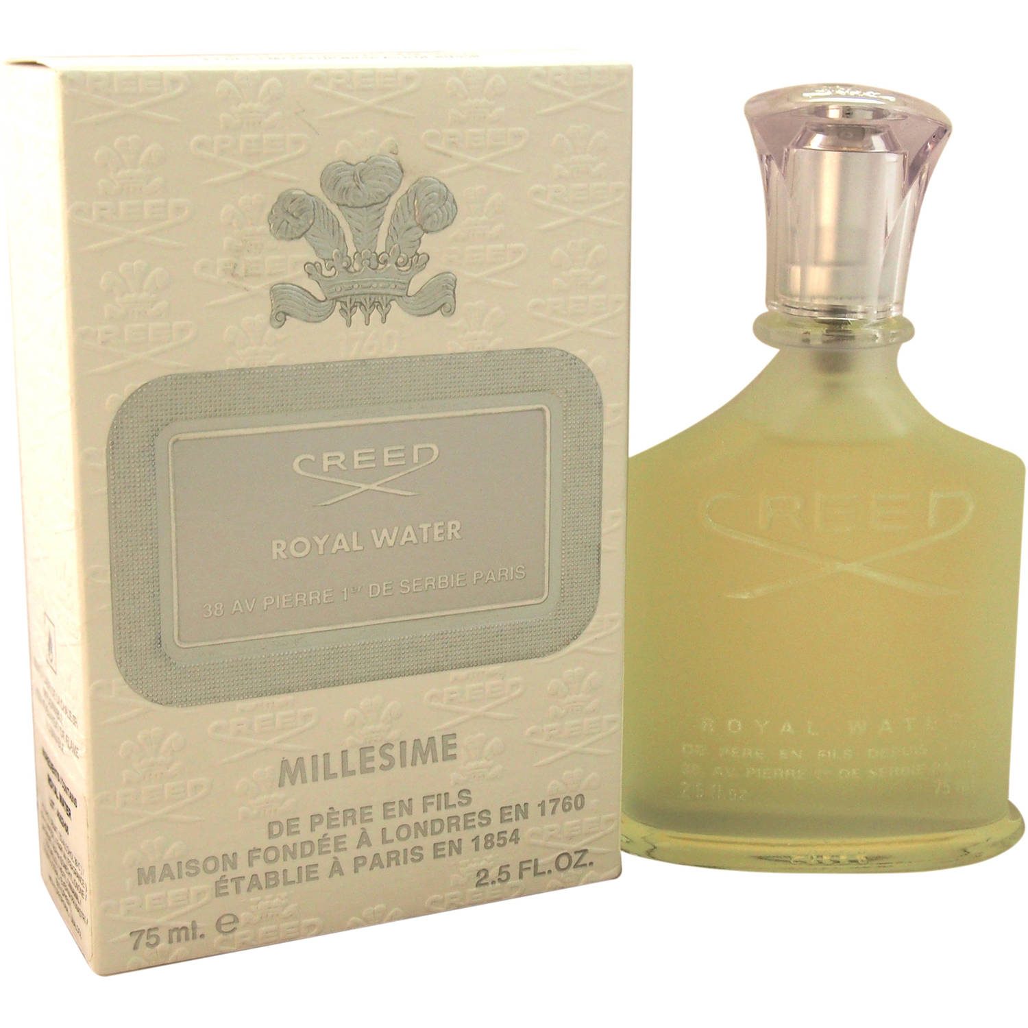 Creed Royal Water Unisex EDT Spray, 2.5 fl oz