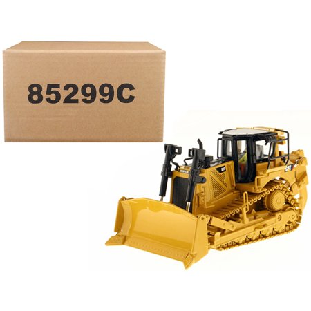 Miter Track - CAT Caterpillar D8T Track Type Tractor w/ Single Shank Ripper w/ Operator Core Classics Series 1/50 by Diecast Masters