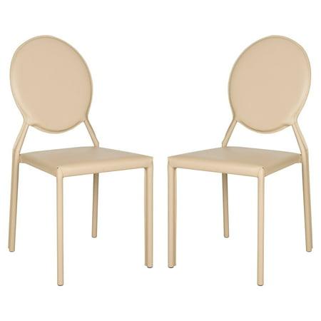 Warner Bicast Leather Side Chair, Set of -
