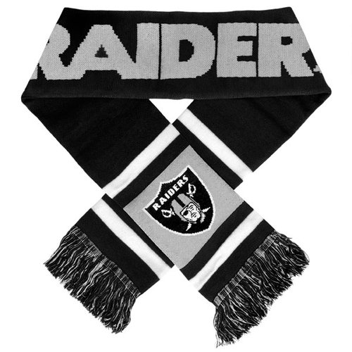 NFL - Oakland Raiders Stripe Scarf