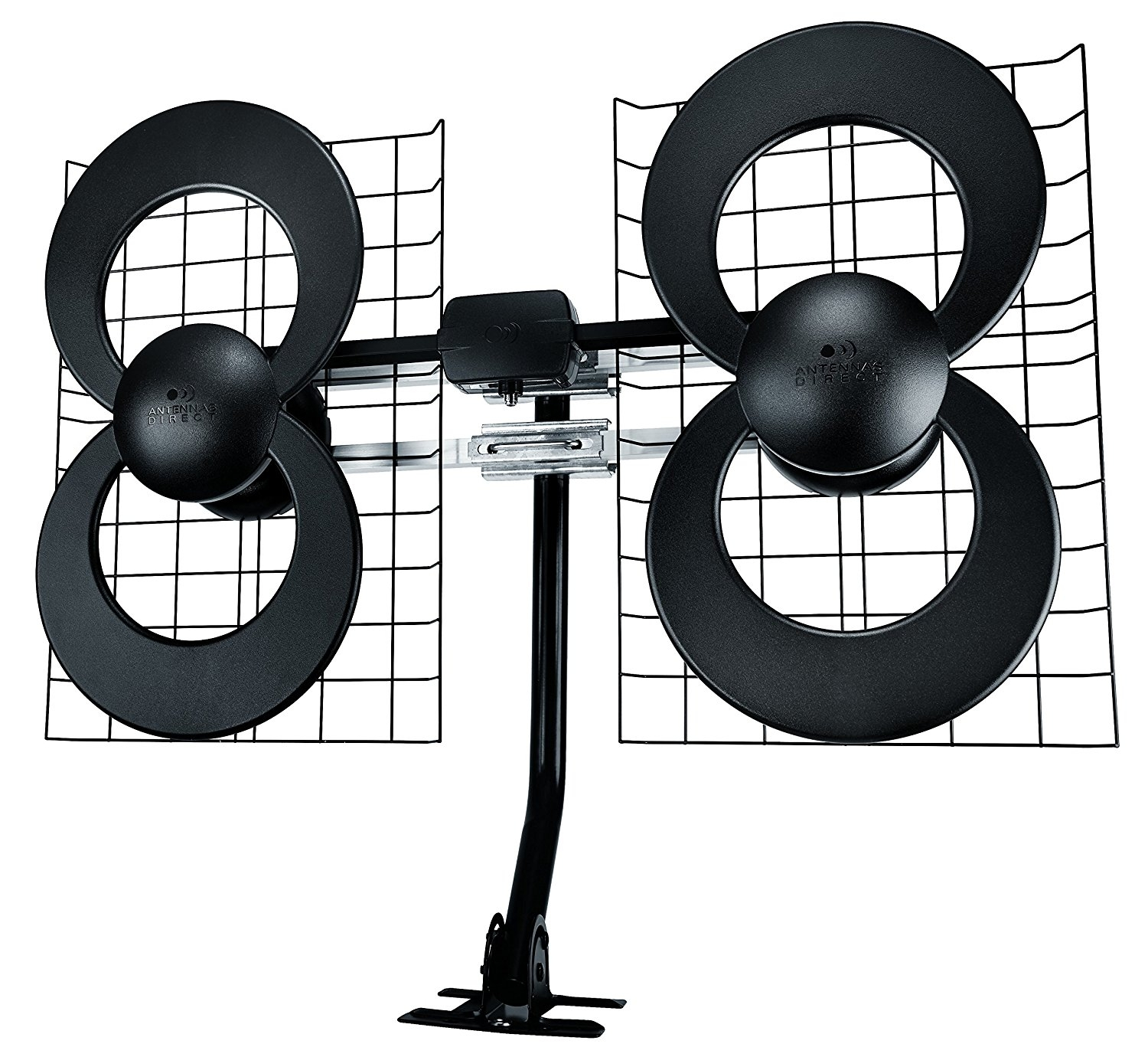 ClearStream 4 Indoor/Outdoor HDTV Antenna with Mount - 70...