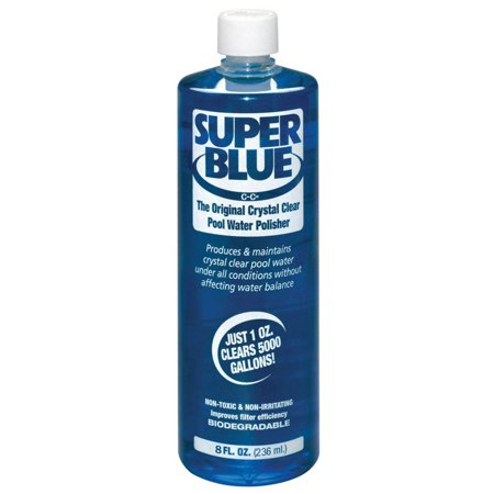 Robarb 20152A Super Blue Crystal Clear Pool Water Polisher Clarifier, 8 Fl Oz