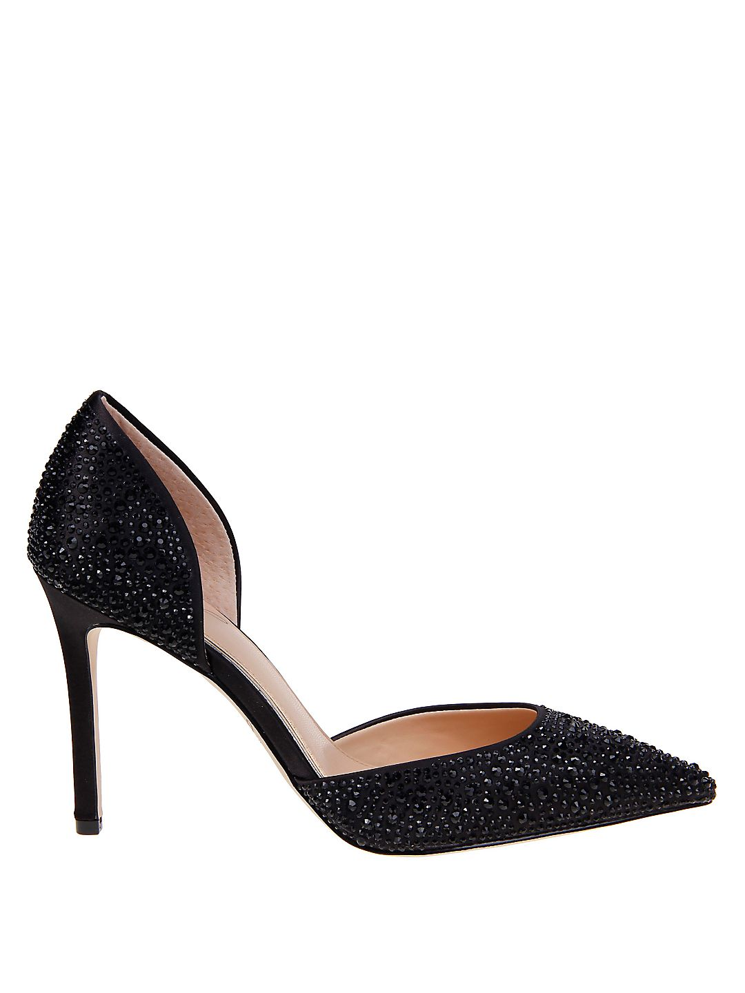 Alexandra Embellished D'Orsay Pumps Affordable and personalized shoes