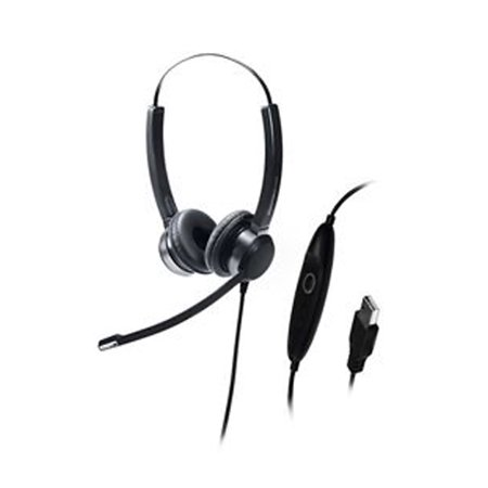 Image of Addasound Crystal Sr2822 Headset - Stereo - Usb - Wired - Over-the-head - Binaural - Supra-aural (crystalsr2822)