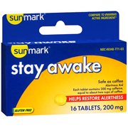 Sunmark Stay Awake Tablets - 16 ct