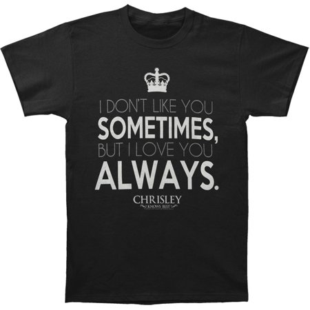 Chrisley Knows Best Mens  Always T Shirt Black