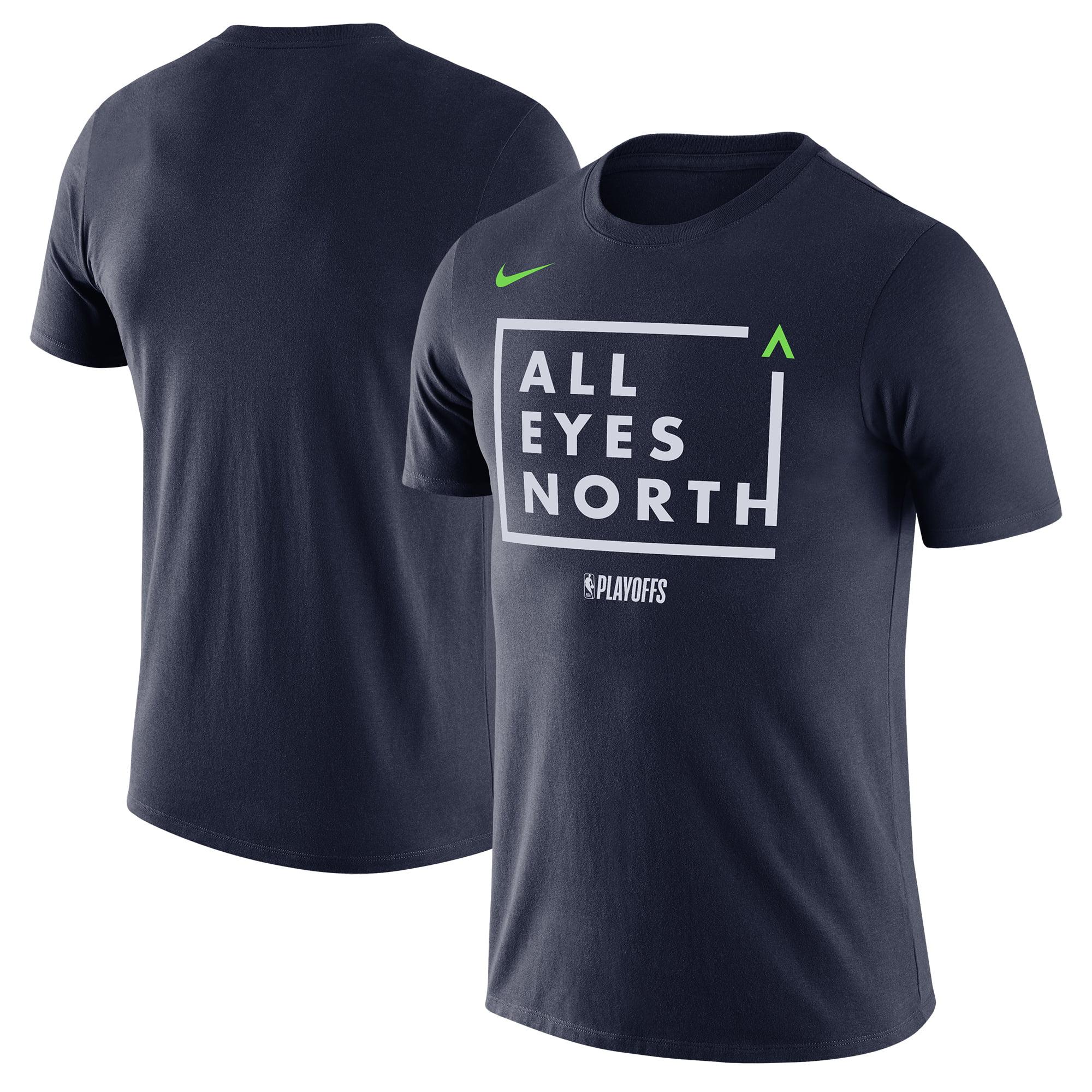 Minnesota Timberwolves Nike NBA Playoffs Mantra Legend T-Shirt - Navy