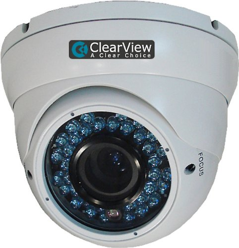 ClearView TD-88 Indoor Or Outdoor Dome Surveillance Camera