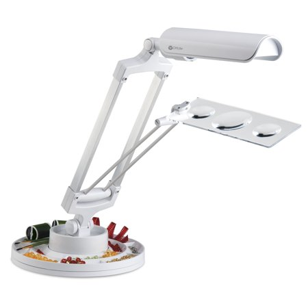 - Rotating Base Craft Lamp with 3x Magnifier