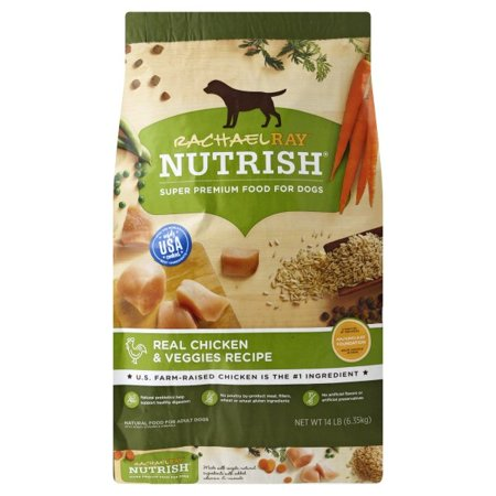 Rachael Ray Nutrish Natural Dry Dog Food, Real Chicken & Veggies Recipe, 14