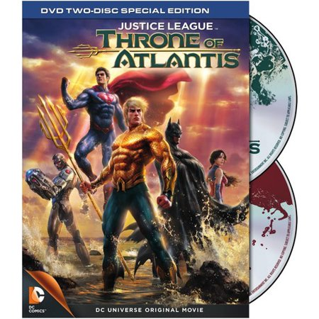 Justice League: Throne of Atlantis (DVD)