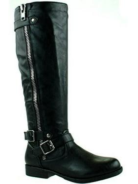 90b3a524cf9c Product Image Bamboo Montana-48 Mid Calf Boots Black 10