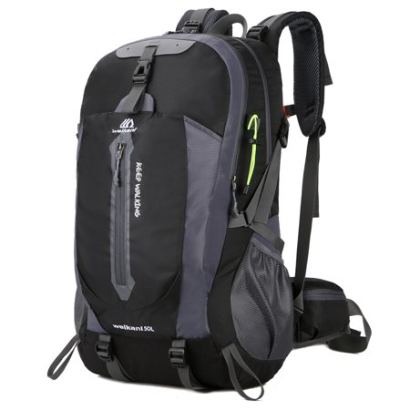 c46f2141b750 weikani - 50L Water Resistant Hiking Travel Backpack Laptop Daypack with Rain  Cover Outdoor Camping Trekking Climbing Backpack for Men Women - Walmart.com
