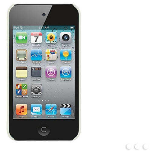 Cellet Rubberized Proguard for Apple iPod touch 4, Clear