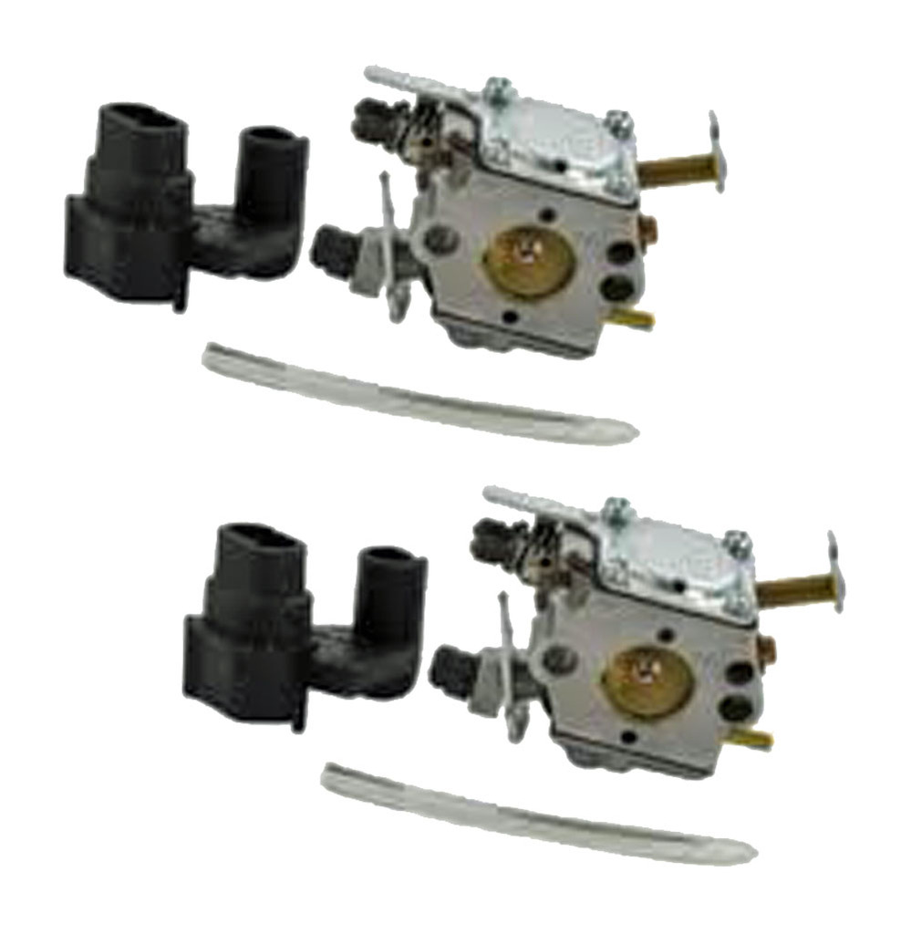 Poulan Craftsman Chainsaw (2 Pack) Replacement Carburetor WT-637 # 530071622-2PK