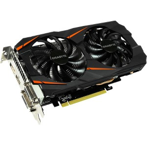 Gigabyte GeForce GTX 1060 Windforce OC 3GB GDDR5 Graphics Card (GV-N1060WF2OC-3GD)