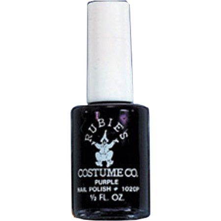 Black Halloween Costume Accessory Punk Gothic Vampire Zombie Nail Polish](Halloween Type Names)