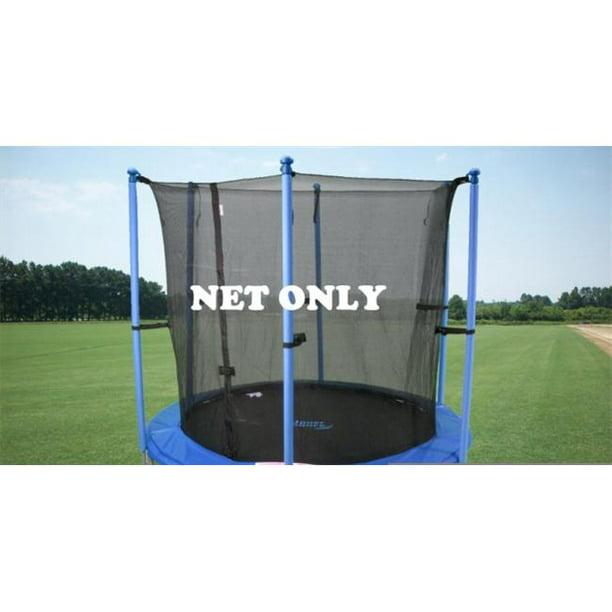 Skywalker Trampoline Net for 15ft Trampoline Enclosure using 8 Poles and Straps NET ONLY