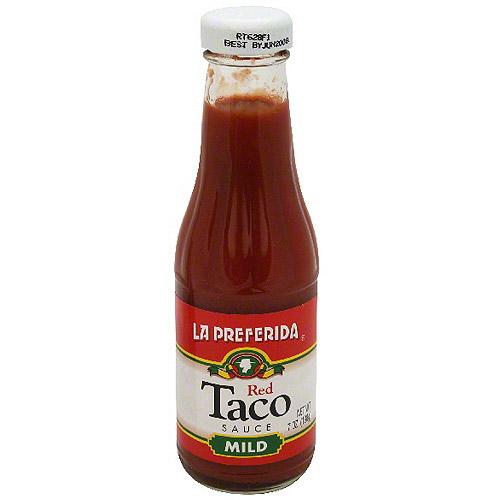 La Preferida Red Mild Taco Sauce, 7 oz (Pack of 12)