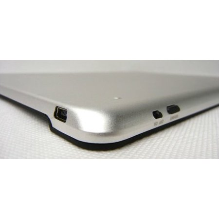 E-Stand LS08-WT White Aluminum Case with Built-In Bluetooth Keyboard for iPad 2