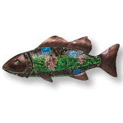 Island Way Snapper Mosaic Wall D cor