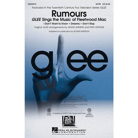 V Cast Music Kit (Hal Leonard Rumours - Glee Sings The Music Of Fleetwood Mac ShowTrax CD by Glee)