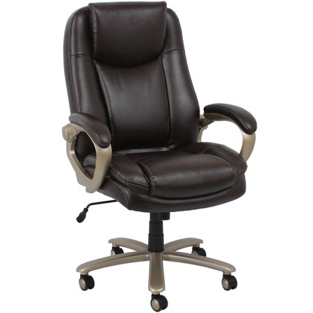 OFM Essentials Big And Tall Leather Executive Office Chair