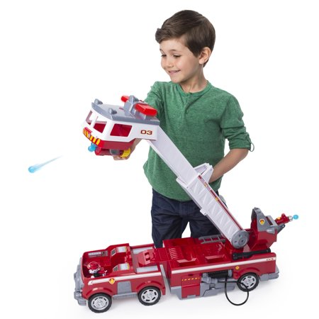 - PAW Patrol Ultimate Rescue Fire Truck, Extendable 2 ft. Tall Ladder, for Ages 3 and Up