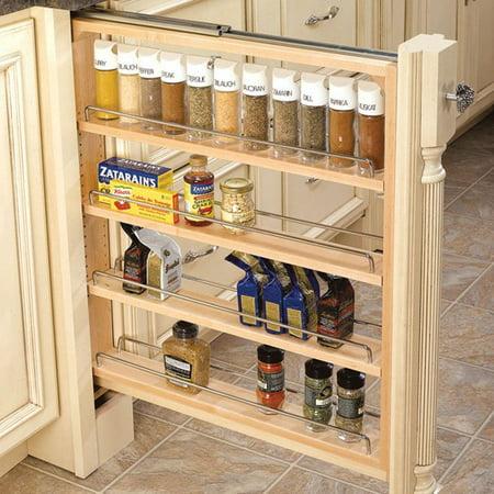 Adjustable Pull Out Shelf (Rev-A-Shelf 432-BF-3C 3
