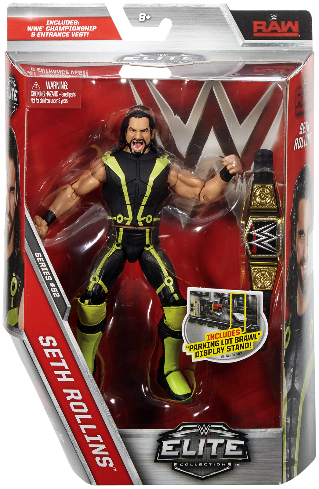 Seth Rollins WWE Elite 52 Toy Wrestling Action Figure by Mattel