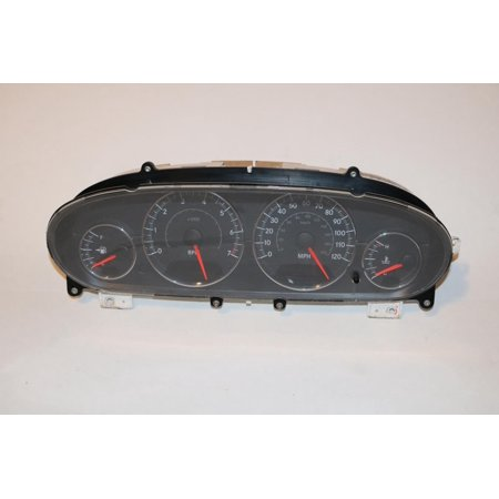 04-06 Chrysler Sebring Conv & Sdn Instrument Cluster Speedometer 76,693 #47326 (2001 Chrysler Sebring Door)