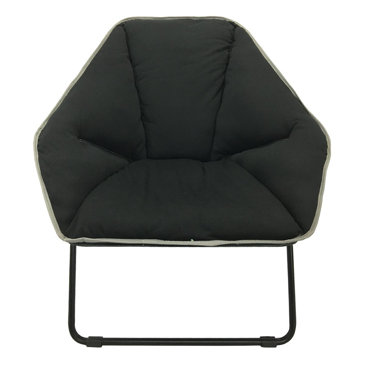 Stupendous Campzio Hexagonal Lounger Bungee Lounge Chair Round Bungee Chair Folding Comfortable Lightweight Portable Indoor Outdoor Black Pdpeps Interior Chair Design Pdpepsorg