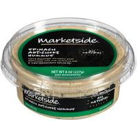 Marketside Spinach Artichoke Hummus, 8 oz