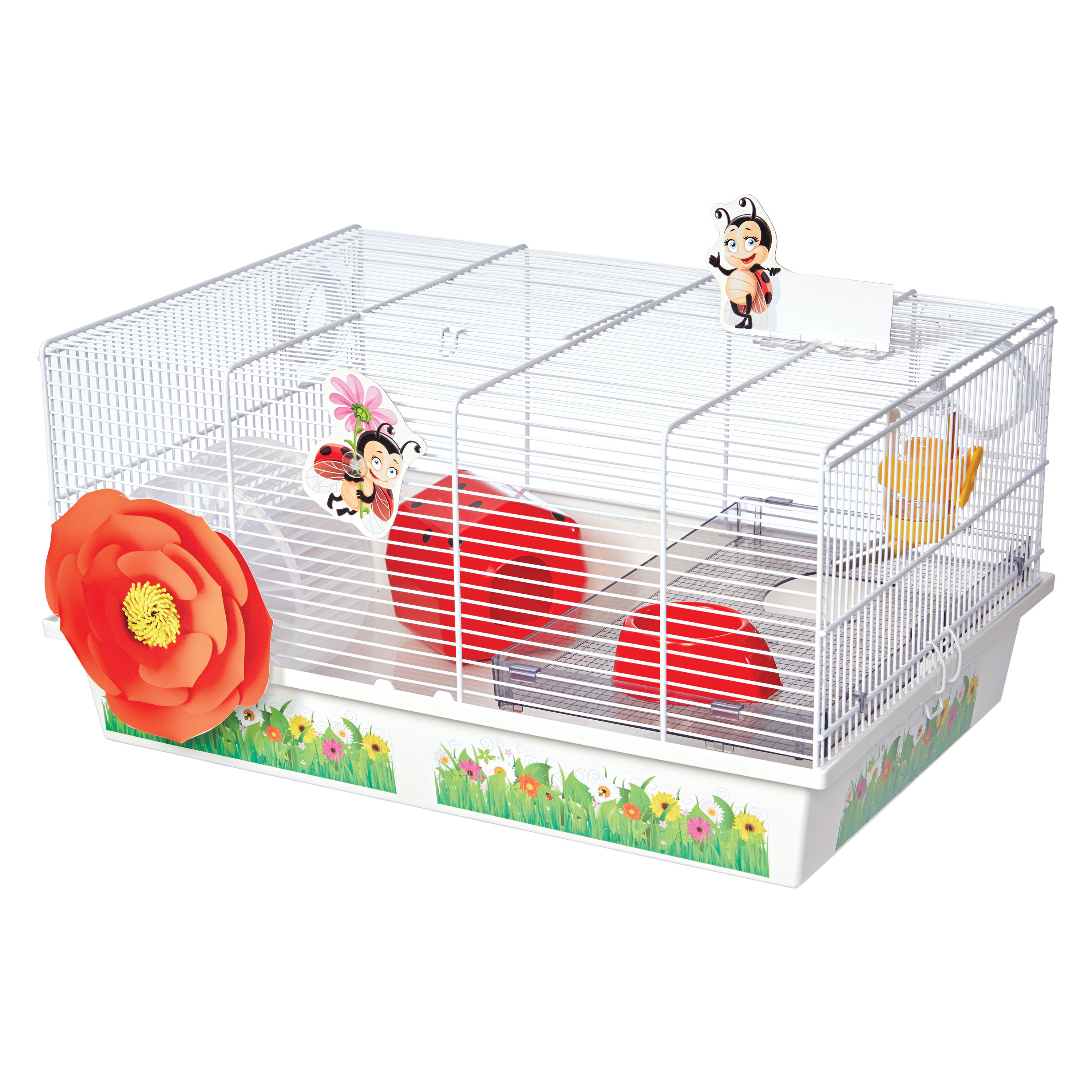Lady Bug Hamster Cage