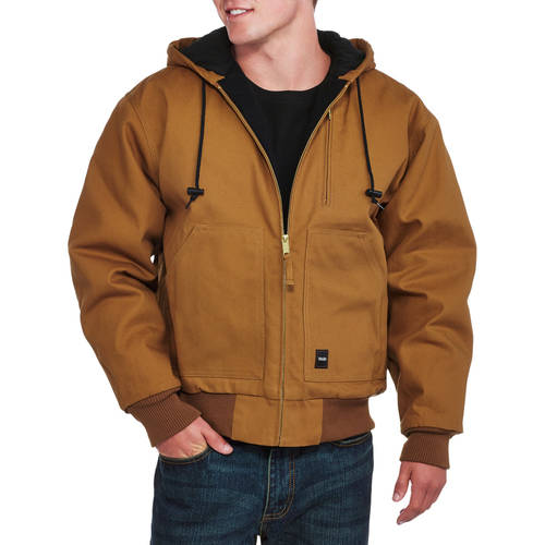 Walls Big and Tall Men's Insulated Duck Hooded Jacket