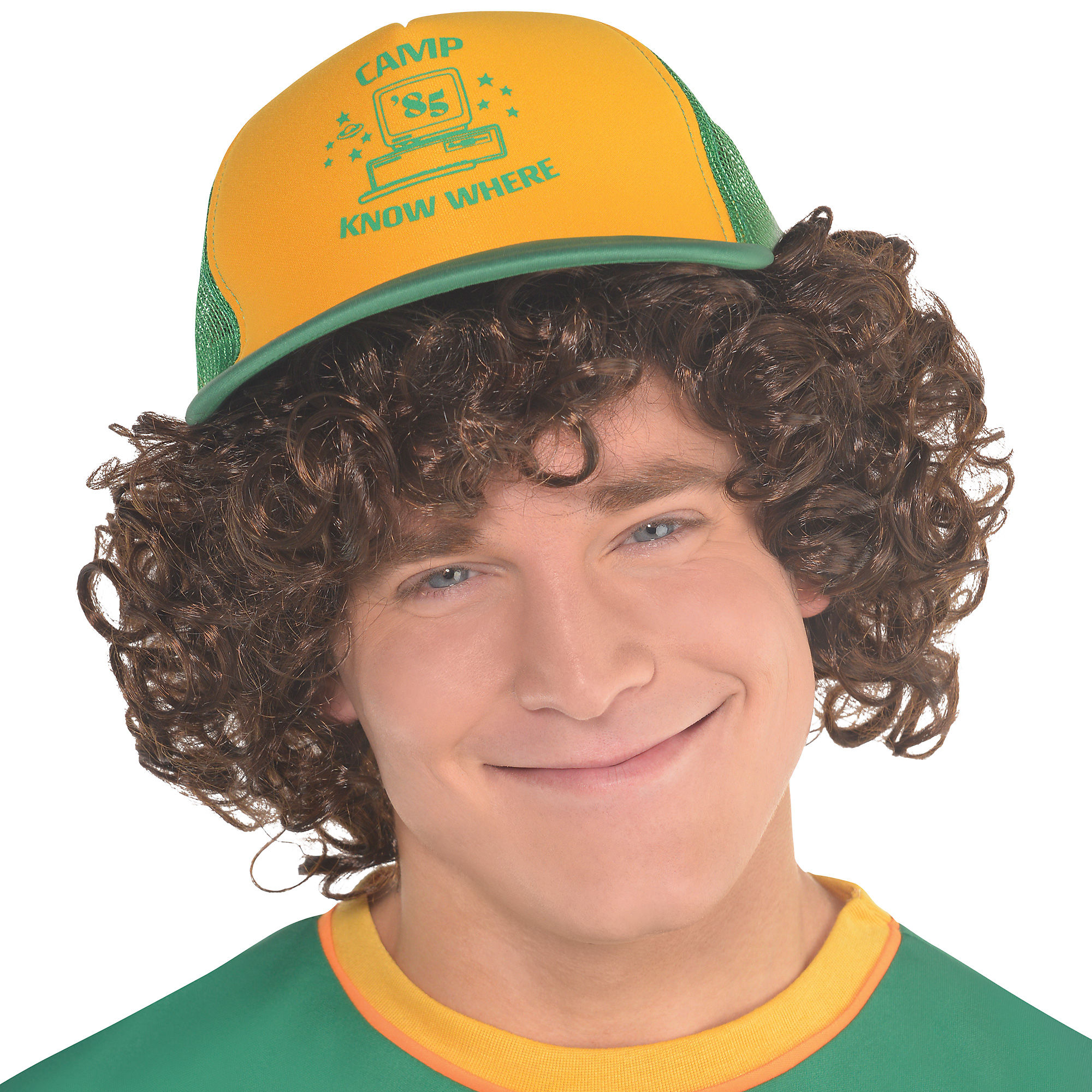 Brand New Stranger Things Dustin Cap Adults /& Kids Sizes Costume Cosplay Trucker