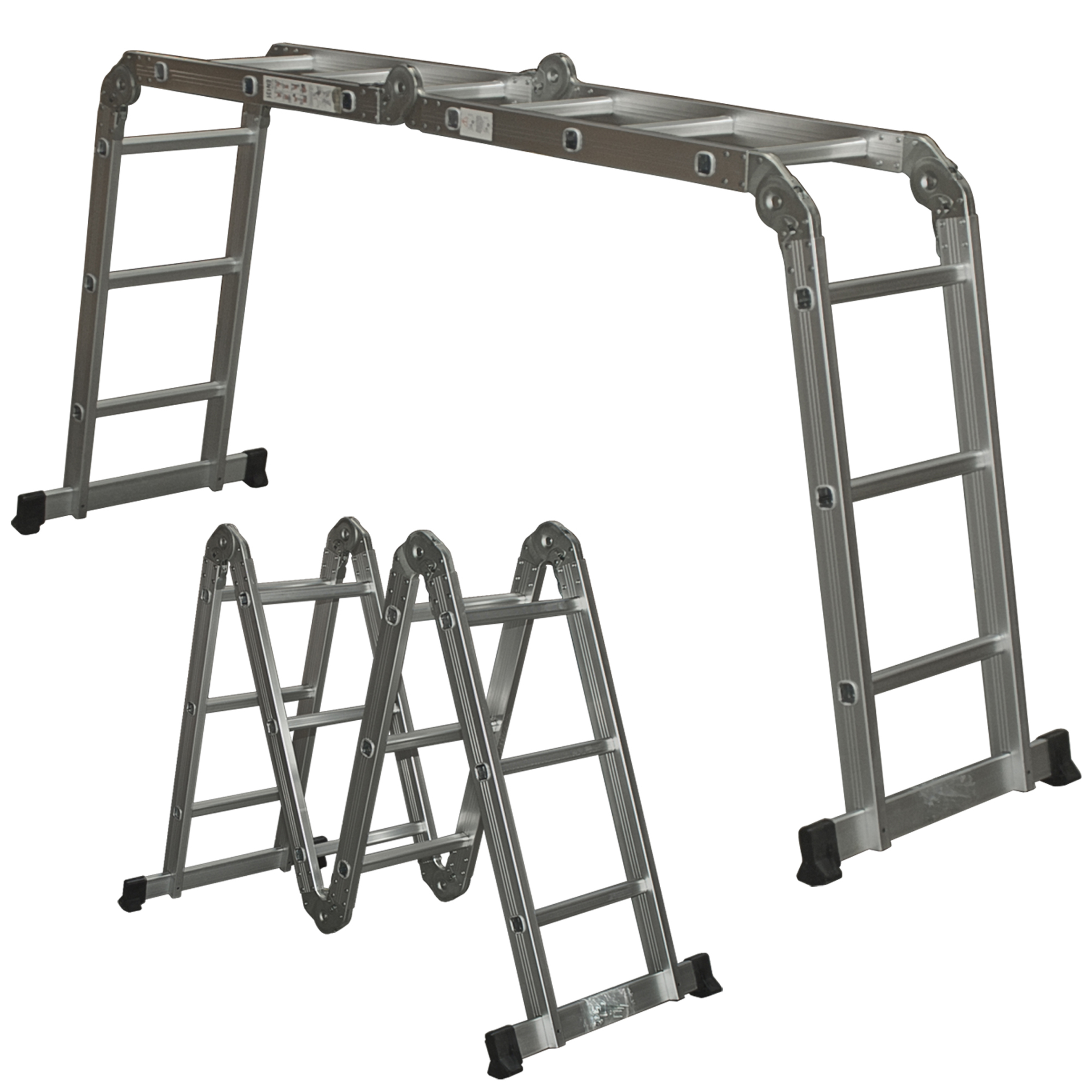 Multi Purpose Aluminum Ladder Folding Step Ladder Scaffold