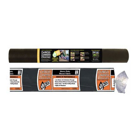 DeWitt 20 Year 250 x 3 Feet 4.1 Ounce Landscape Fabric Home & Pro Weed (1 Ounce Of Weed In A Bag)