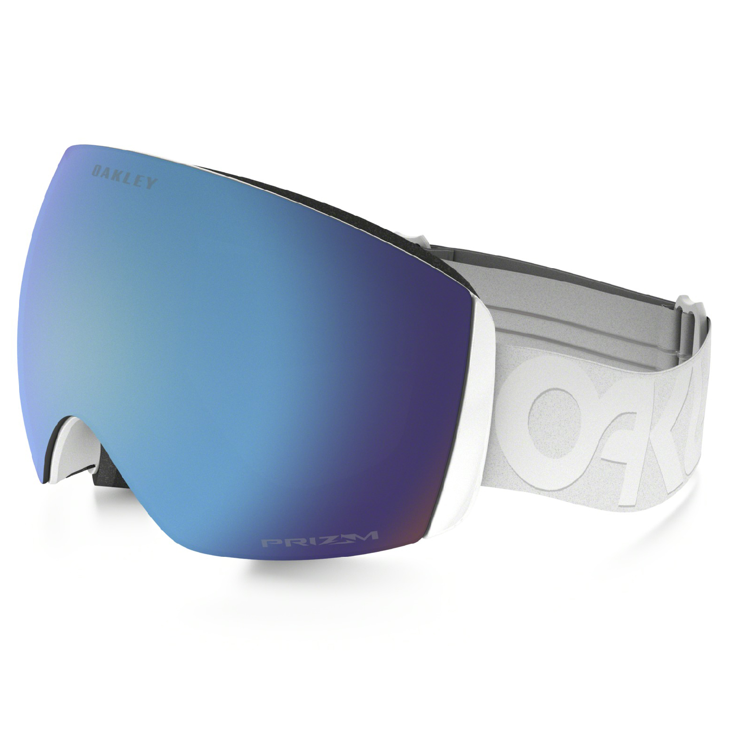 Oakley 2018 Flight Deck (Factory Pilot Whiteout Prizm Snow Sapphire Iridium) Goggles by Oakley