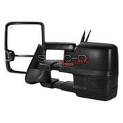 Spec D Tuning RMX-SIV03G3GLEDHP-FS Towing Mirrors, Power Heated 03-06 Chevy Silverado