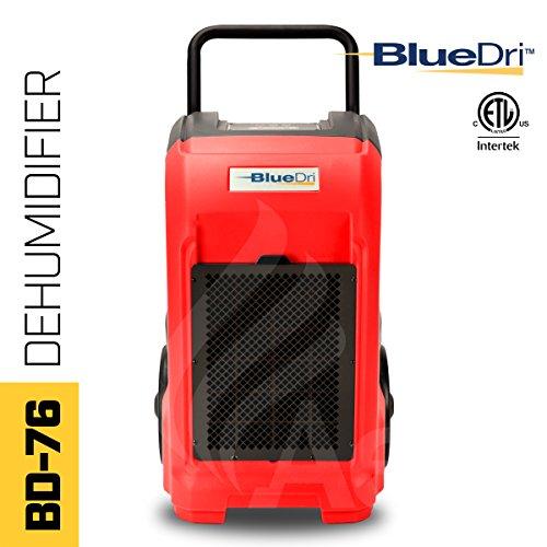BlueDri BD 76P GREEN 7.3 Amps 235 CFM Commercial Dehumidifier