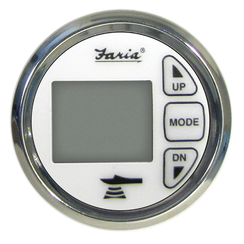 """Faria Marine Instruments 13852 Faria Chesapeake 2"""" Depth Sound"""